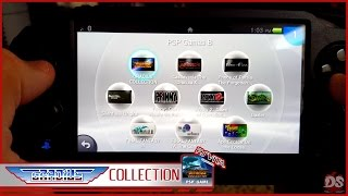 Gradius Collection PSP on PSVita (Off Screen Gameplay)