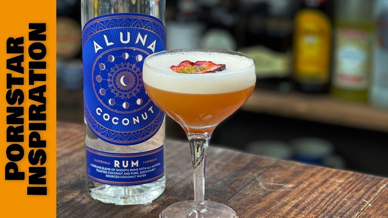 Coconut Rum in a Pornstar Martini!