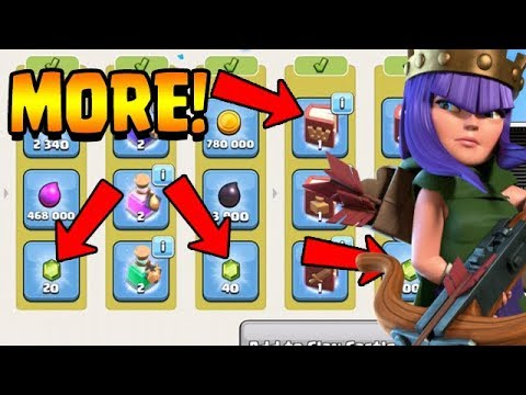 MORE FREE GEMS & BOOK OF HEROES!  TH11 Farm to Max   Clash of Clans