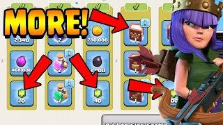 MORE FREE GEMS & BOOK OF HEROES!  TH11 Farm to Max | Clash of Clans