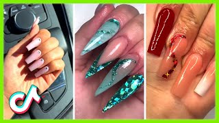 Best Long Acrylic Nails Compilation | Nail Art 2021 | TikTok Compilation