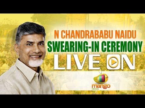 N Chandrababu Naidu swearing in ceremony LIVE