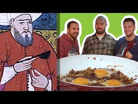 Osmanlı Sarayı Usulü Soğanlı Yumurta Pişirdik