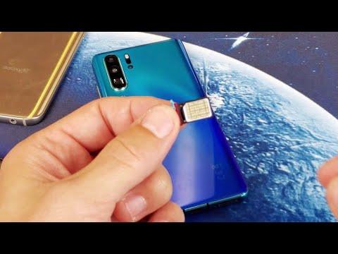 Huawei P30 Pro How To Insert Dual Sim Card Or Nano Memory Card Youtube