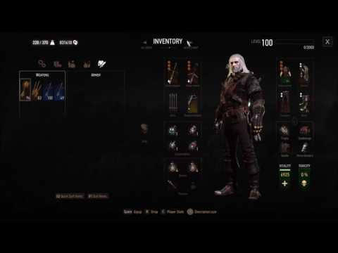 Witcher 3: Max Damage Build Save Game