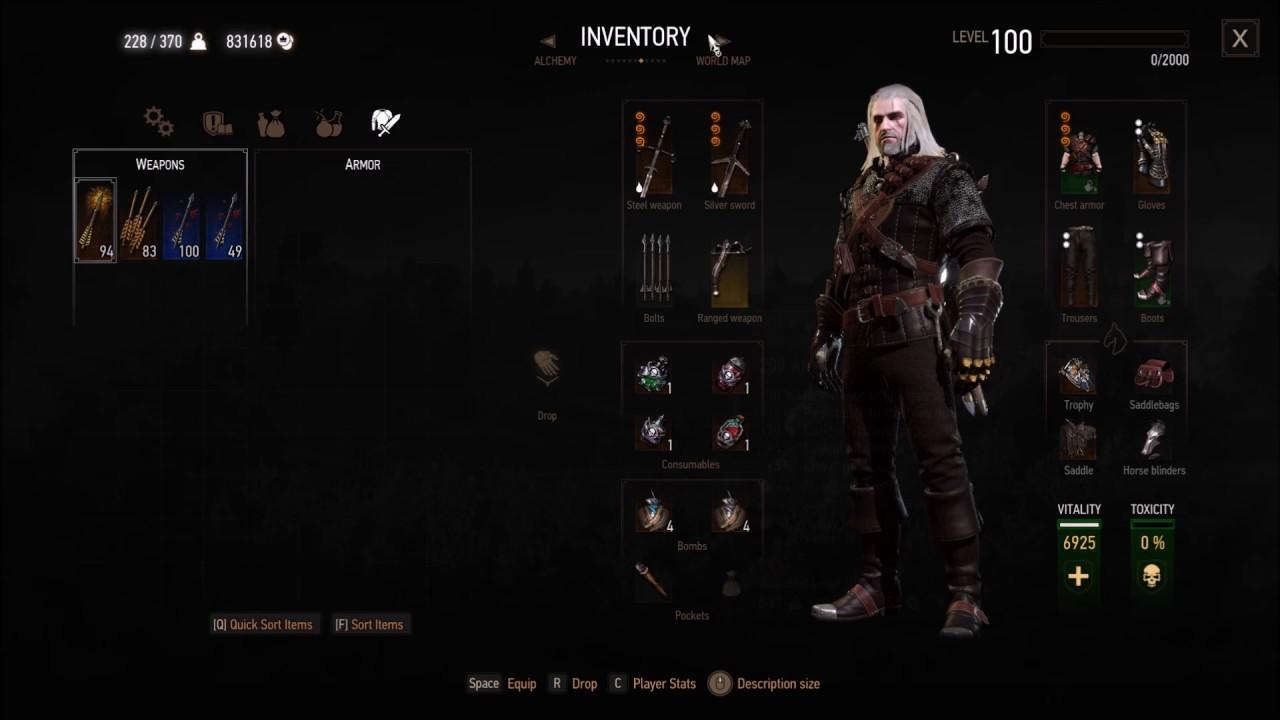 Witcher 3 Savegame
