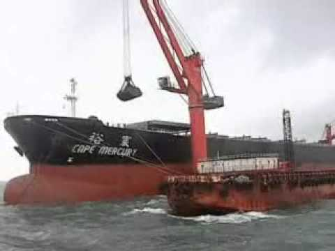 RISHI SHIPPING DISCHARGING CAPE SIZE VESSEL MV CAPE MERCURY
