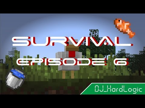 Survival Minecraft: Episode 6 // What the Cluck?! A Fish Farm!