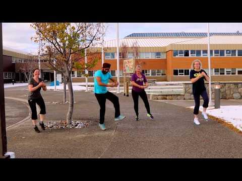 Yukon College Bhangra | Gurdeep Pandher And College Staff