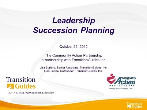 Leadership Succession Planning
