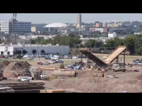 Trinity River Bridges take shape