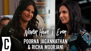 Never Have I Ever Season 2 Interview with Poorna Jagannathan and Richa Moorjani