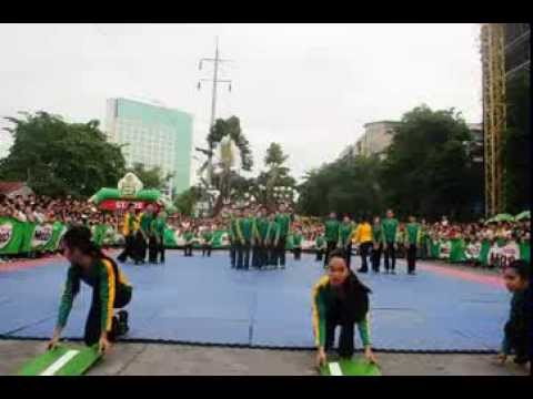 2013 MILO Cheerdance Competition Davao CHAMPION - Davao City National High School