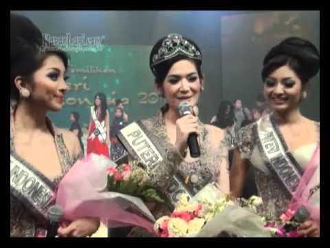 Maria Selena Raih Mahkota Puteri Indonesia 2011