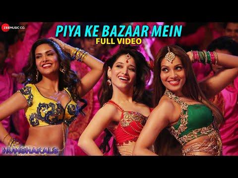 Piya Ke Bazaar Mein Full Video HD | Humshakals | Saif, Riteish, Bipasha,Tamannaah, Ram Kapoor