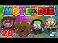 I AM GROOT! || 4 Player Move Or Die Gameplay || #28