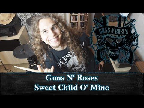 Sweet Child O' Mine – Guns N' Roses – Drum Cover (Playthrough) – Appetite for Destruction
