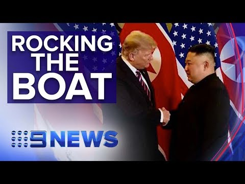 U.S. seize North Korean ship for violating sanctions | Nine News Australia