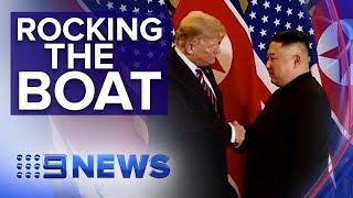 U.S. seize North Korean ship for violating sanctions | Nine News Australia
