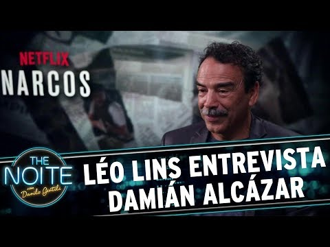 Léo Lins entrevista  Damián Alcázar | The Noite (01/09/17)
