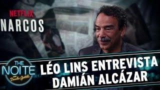 Léo Lins entrevista  Damián Alcázar, da série