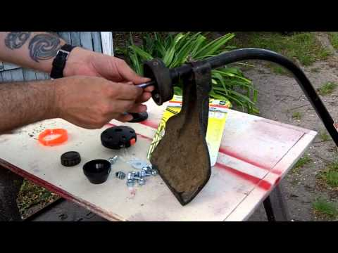 Push-N-Load 4 String Trimmer Head - YouTube