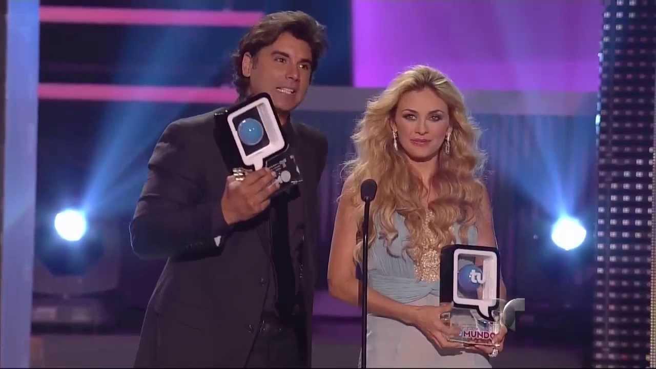 Premio La Pareja Perfecta: Jorge Luis Pila y Aracely ...
