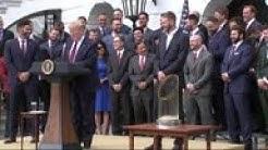 Trump honors Red Sox World Series win at WH
