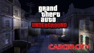 GTA San Andreas | UNDERGROUND MOD | Carcer city, MANHUNT