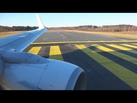 Ryanair Boeing 737 EI-DYA Oslo Rygge Take Off FR7023 RYG-WMI [1080p HD]