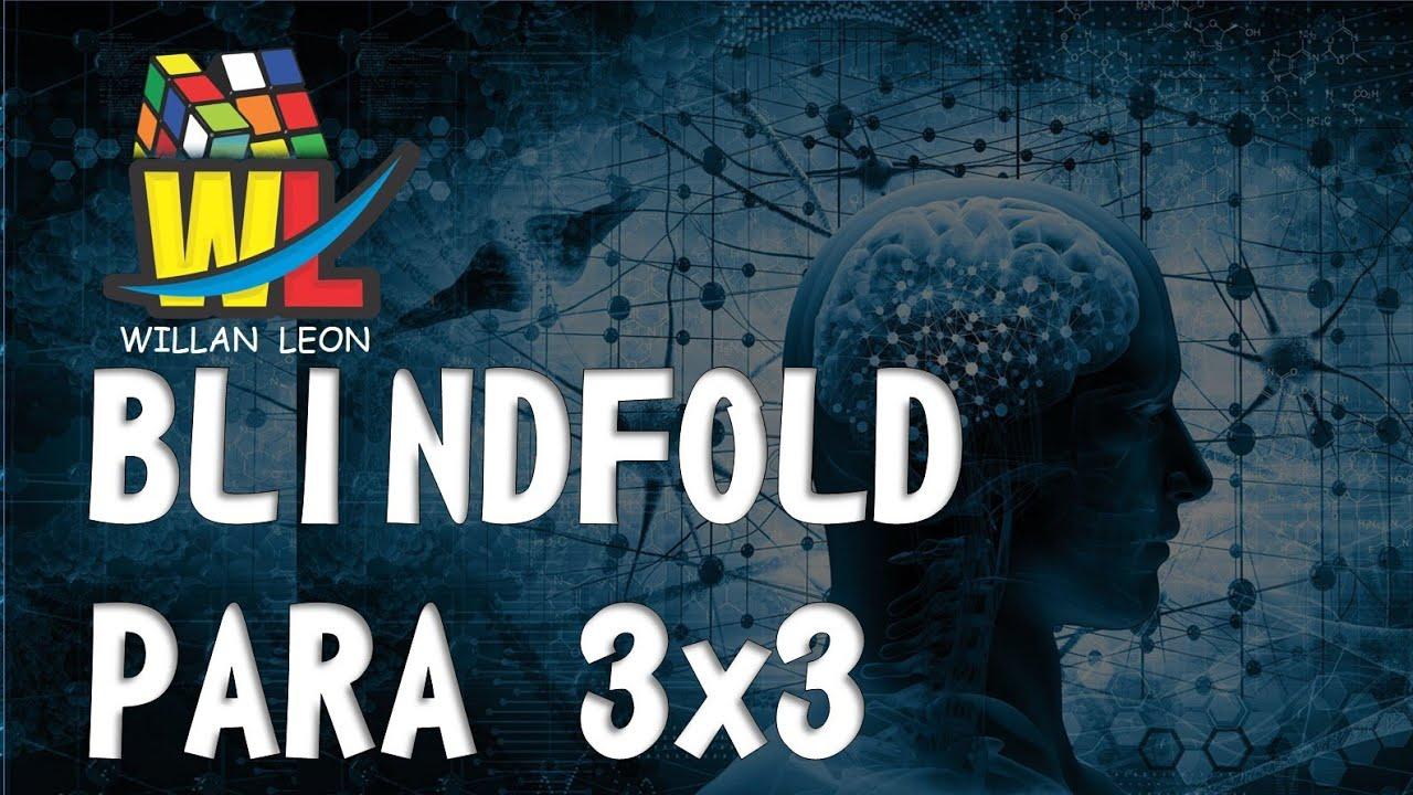 Parte 3. Blindfold 3x3  - abrir, cerrar ciclo - Esquinas marcadas