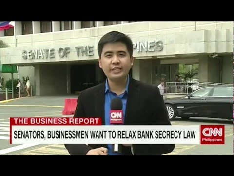 Senators, businessmen want to relax Bank Secrecy Law