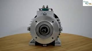 Présentation d'un moteur Electrique Triphasé 380v B14