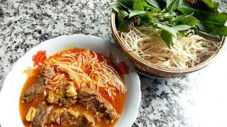 Bí Quyết Nấu BÚN BÒ CAY BẠC LIÊU Ngon Đúng Vị - Món Ăn Ngon Mỗi Ngày