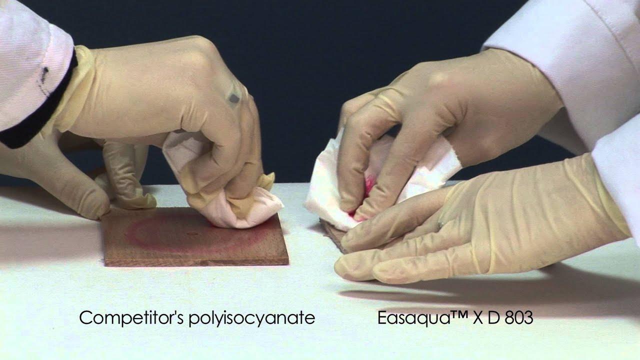 Better Abrasion Resistance With EasaquaTM X D 803 For Wood Coating Vencorex