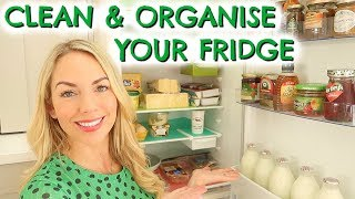 HOW TO CLEAN & ORGANISE YOUR FRIDGE