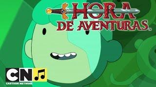 Hora de Aventuras | A canção dos Buscadores  (Especial Ilhas, parte 1) | Cartoon Network