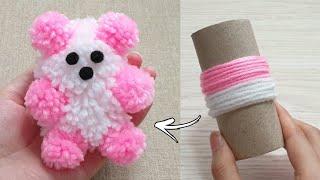 Amazing Teddy Bear Making with Wool - Super Easy Teddy Bear Make at Home - How to Make Teddy Bear