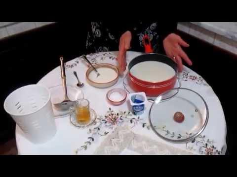 fromage-blanc:recette-maison-très-facile-كيفية-تحضير-الجبن-الأبيض-بالمنزل---طريقة-سهلة