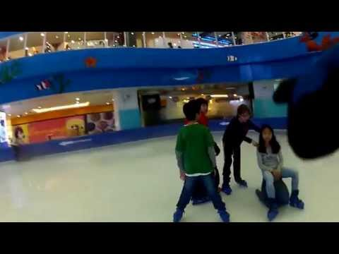 Ice skating in Hanoi, Vietnam