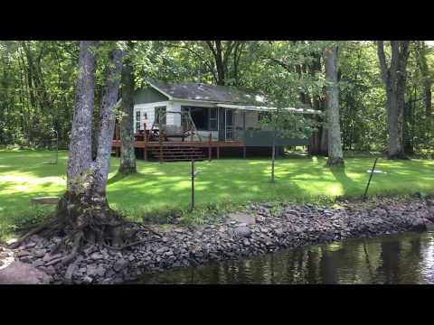 Wolf River Cabin For Sale - Waterfront Dreams Real Estate - Wisconsin