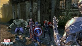Marvel Heroes 2015 - Content Inspired by Marvel