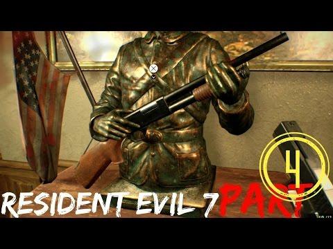 RESIDENT EVIL 7 How To Get Shotgun, Walkthrough Part 4