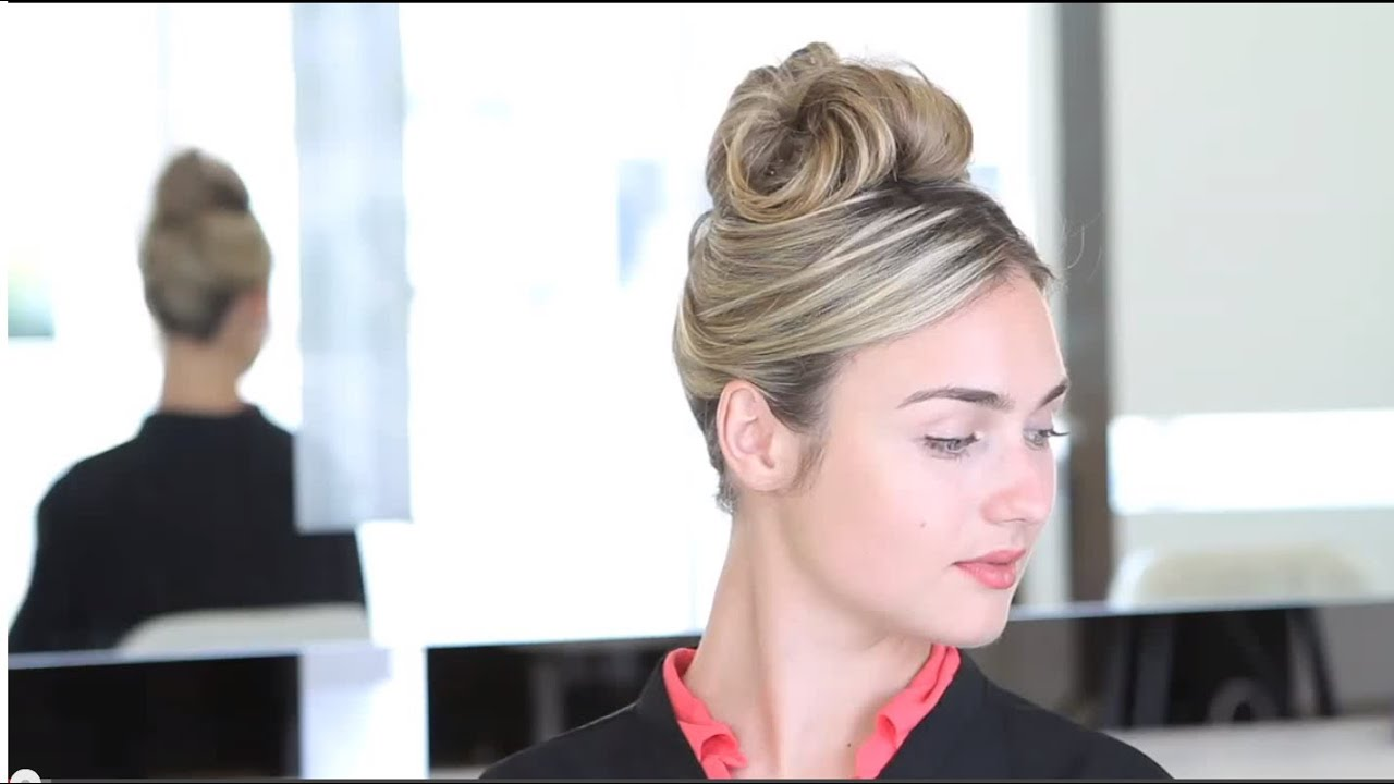 How To 60s Updo