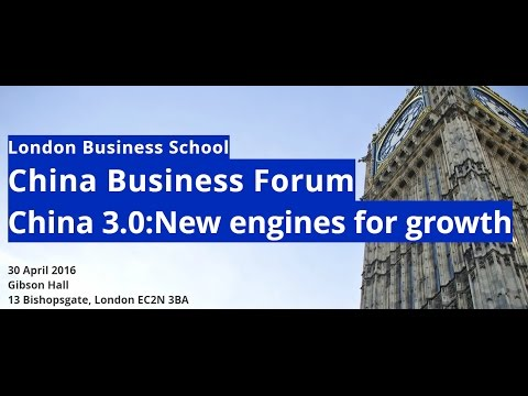 London Business School China Business Forum 2016