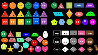 Shapes Collection Volume 2 - What Shape Is it? - The Kids' Picture Show (Fun & Educational Video)