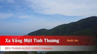 KARAOKE | Xa Vắng Một Tình Thương - St. Hoài An | Nhạc Trẻ Karaoke Chọn Lọc
