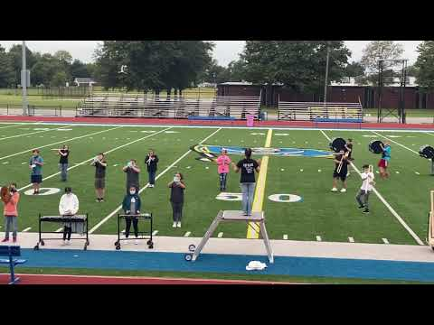 Gosnell High School Marching Band parent performance 9/25/20.