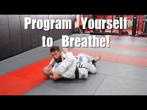 Stop Holding Your Breath in BJJ ( Easy Drilling Tip )