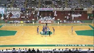 高校総体2011 女子バスケ決勝 大阪薫英女 対 金沢総合 thumbnail